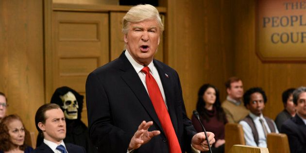 Alec Baldwin Reveals How Many More Times He'll Play Trump On 'Saturday Night