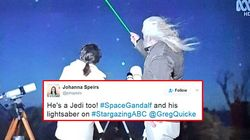 'Space Gandalf' Won The Nation's Hearts In Last Night's 'Stargazing