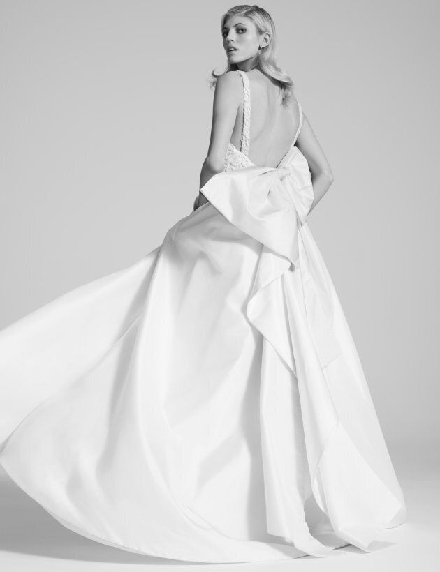 Fame and Partners is creating quality, affordable, made-to-measure bridal wear. This is one of the available