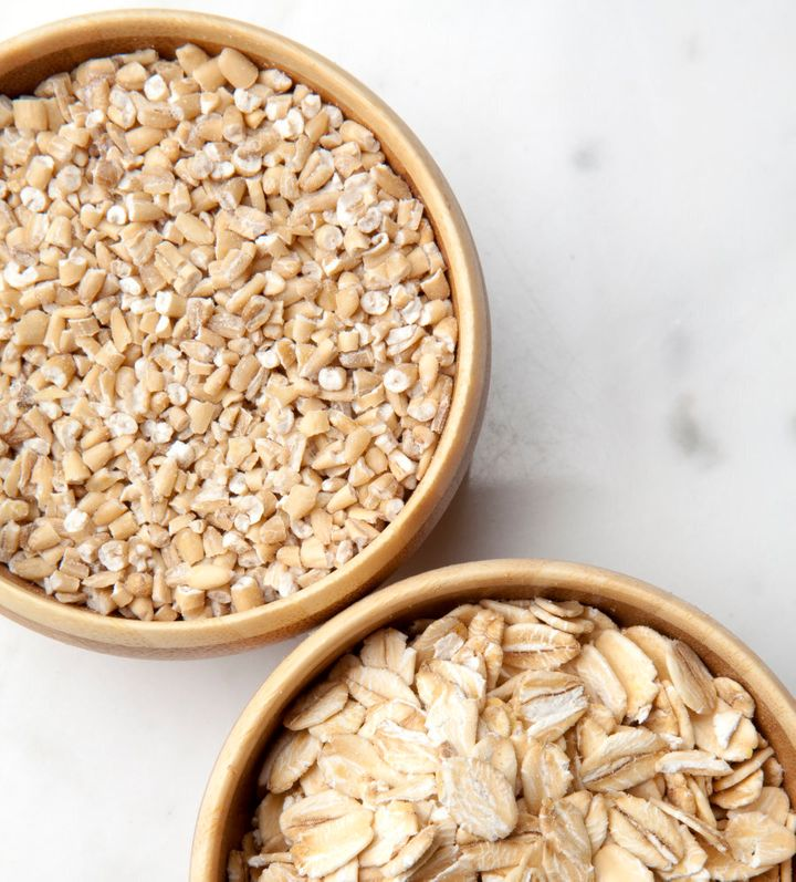 Steel-cut oats are nuttier and have more bite compared to quick and rolled oats.