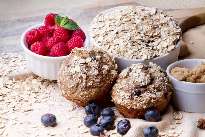 Include oats the next time you're making muffins and loaves.