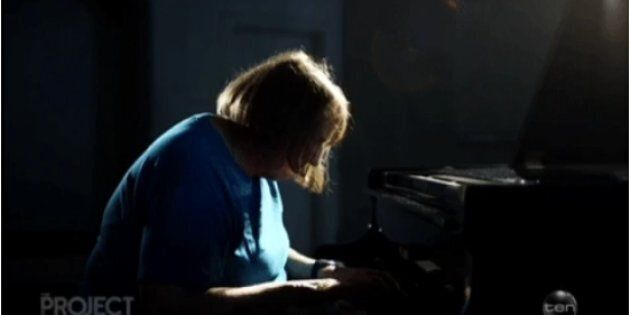 Another deaf-blind lady, Michelle, can still play the piano with her condition.