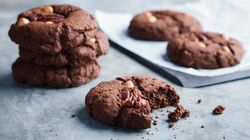 Gooey Chocolate Brownie Cookies (That Happen To Be Gluten