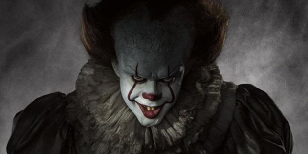 Look who's laughing now: Bill Skarsgard stars as Pennywise the clown in the latest adaptation of Stephen...