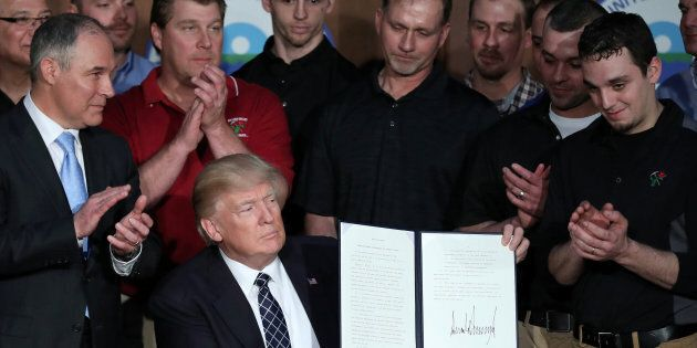 Five Reasons Trump's Executive Order On Climate Policy Will