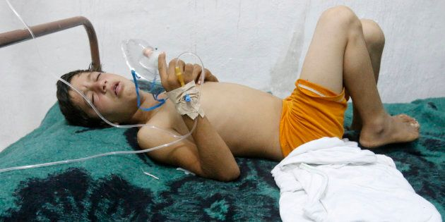Autopsies Confirm Chemical Weapons Used In Syria Gas