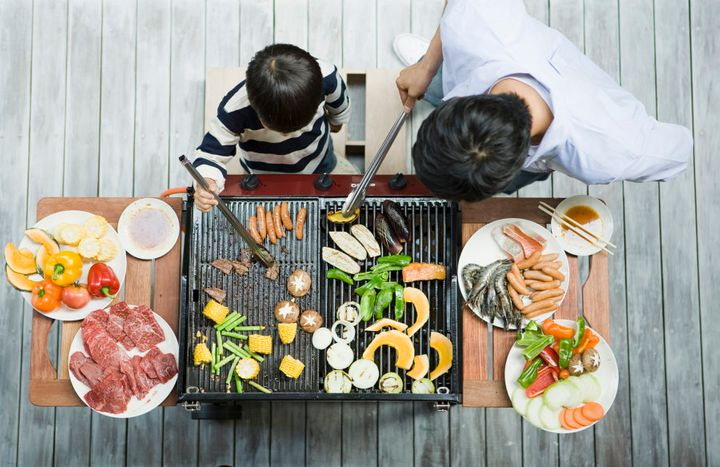 Make cooking together a ritual.