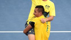 He Did It! Kyrgios Leads Australia To Davis Cup Quarterfinal