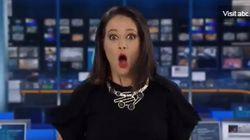 News Anchor F*cks Up On Live TV And It's The Stuff Nightmares Are Made