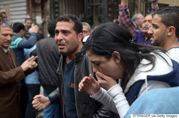 Dozens Killed In Palm Sunday Bombings At 2 Egyptian