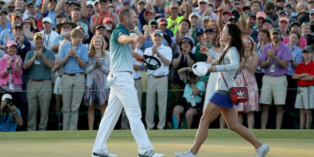 He won golf. Together they won