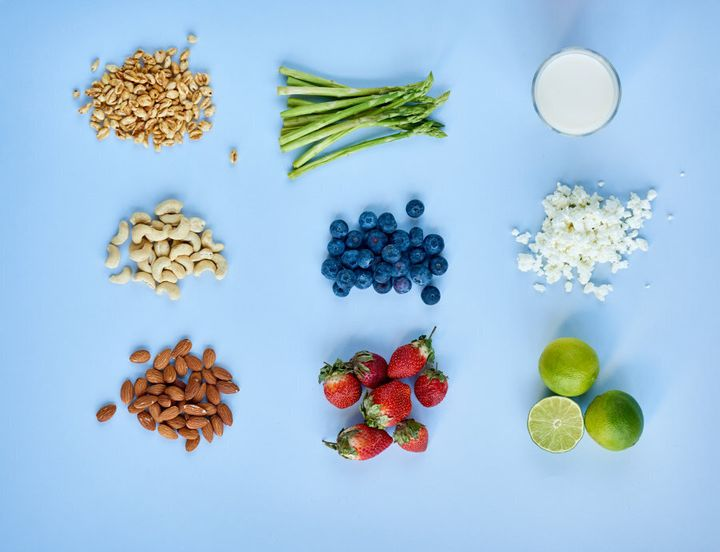 Fruit, nuts and raw veggies are all bag-friendly snacks.