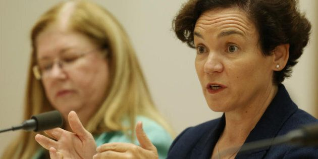 Kathryn Campbell Secretary Department of Human Services before a Senate Committee hearing into the Centrelink...