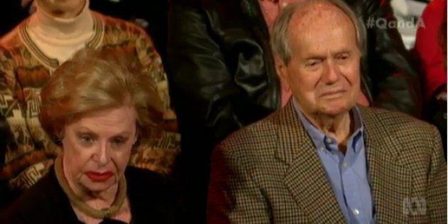 Q&A Audience Member Calls 'Bullsh*t' On Anti-Euthanasia