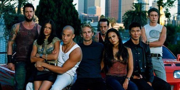 The original cast from the first film in 2001.