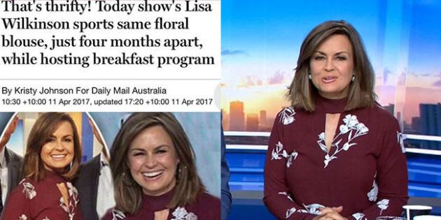 Lisa Wilkinson Had The Perfect Response To Outfit