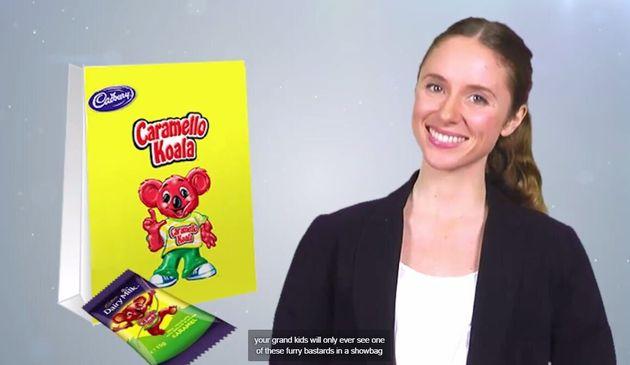 Are we terrible people if we feel like a caramel chocolate koala treat right