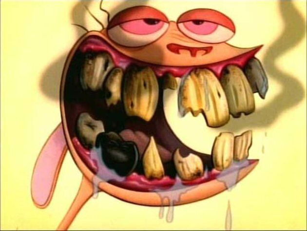 These 'Realistic' Ren And Stimpy Masks Will Haunt Your