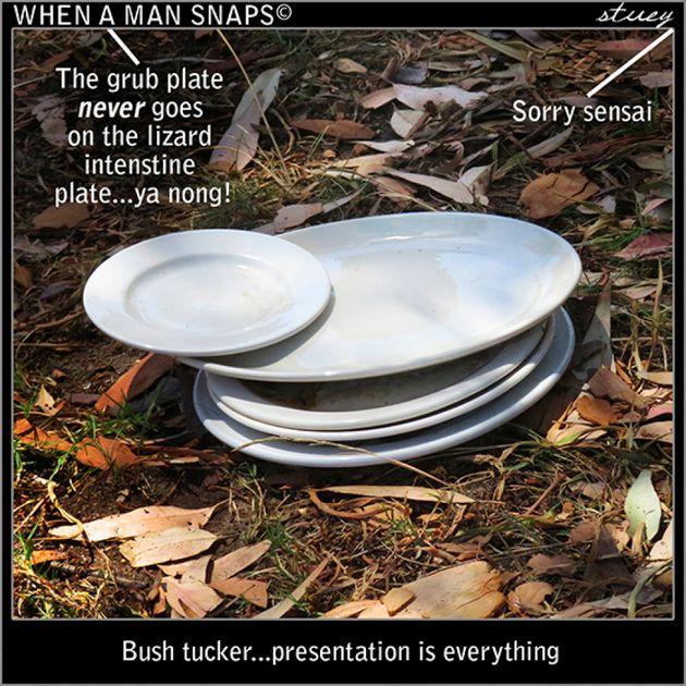 When It Comes To Bush Tucker, Presentation Is