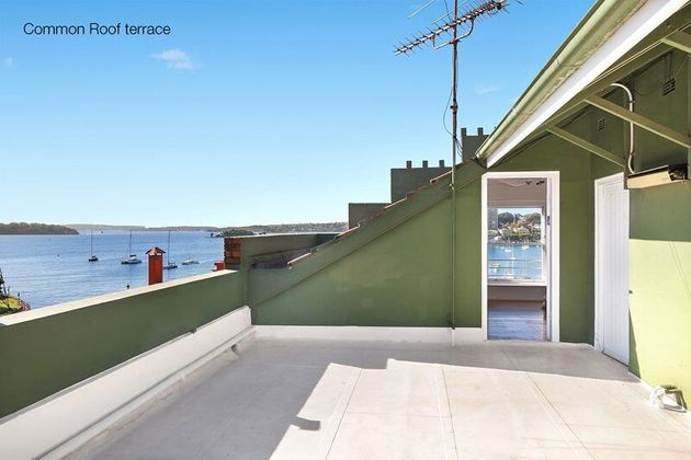 The view is great but you'll be living in roof space and you'll be sharing the terrace with everyone