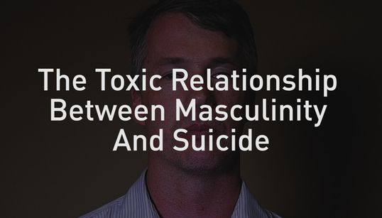 Men Are Killing Themselves To Be 'Real