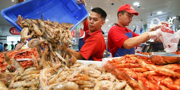 Thousands of Australians are set to enjoy seafood over