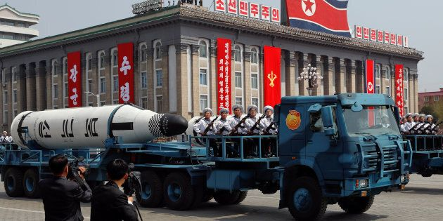 North Korea is said to have failed in its attempt to launch a missile on its east