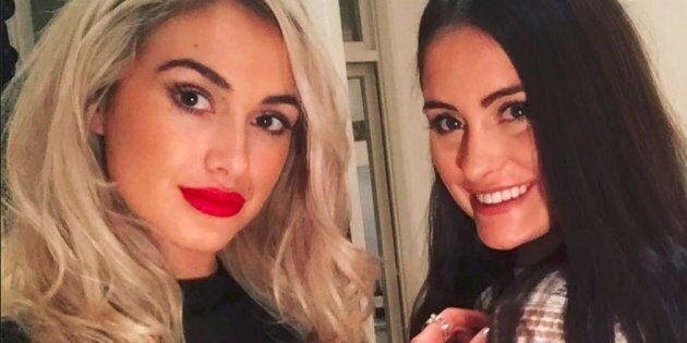Sydney model Isobella Fraser, 22, was in London visiting her sister Prue, 20, when they were caught up...