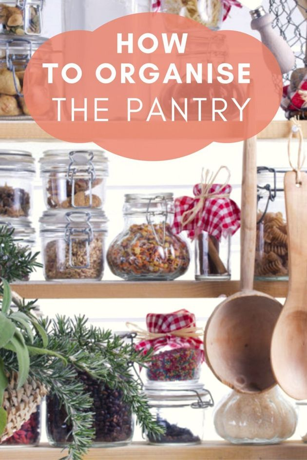 The Best Ways To Organise Your Pantry (And Make It Look