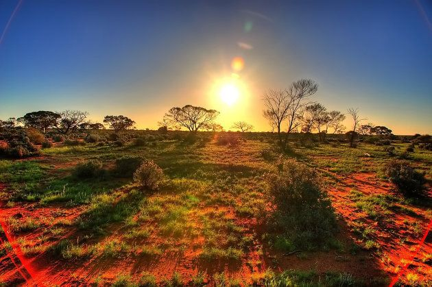Australia gets enough sunshine to power the nation 10,000 times over. The problem is being able to capture, store and release that energy effectively.