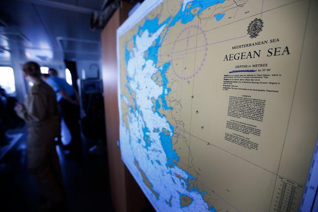 Επιστολή της Ελλάδας στον ΟΗΕ για την έγγραφη αμφισβήτηση υφαλοκρηπίδας στο Αιγαίο από την