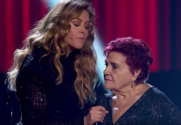 Las pullitas de una concursante de 'La Voz Senior' (Antena 3) dejan cortada a Paulina