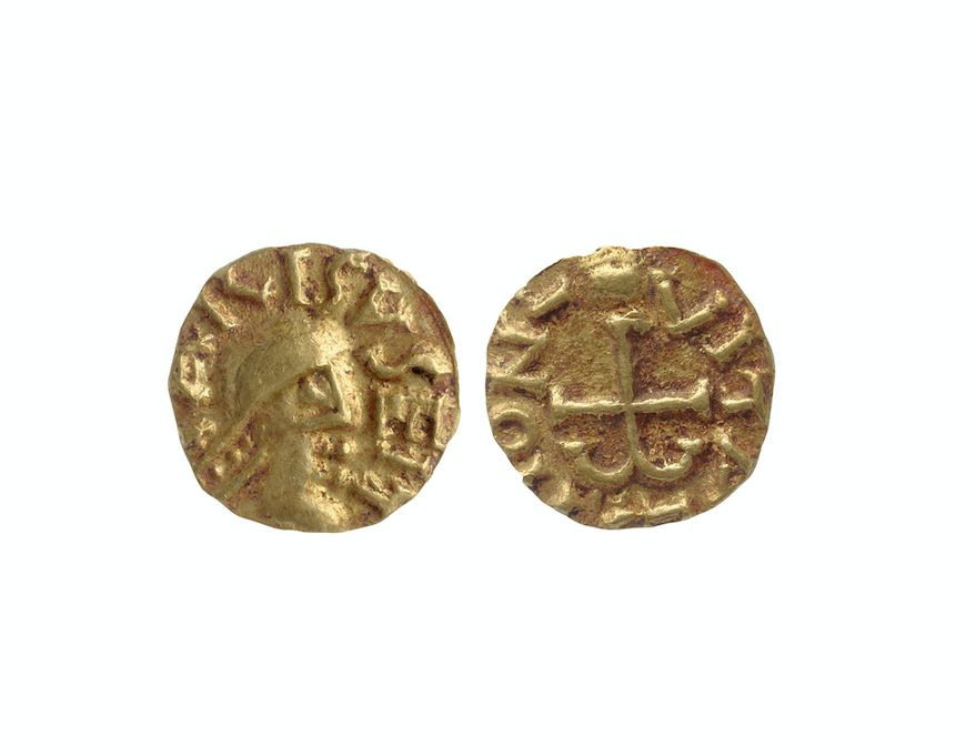 Gold coins were also found inside (PA)