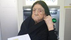 A 107 anni riceve