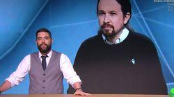 El 'repaso' de Dani Mateo que impacta por lo que muestra del Pablo Iglesias de ahora y del de hace tres