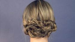Can't Plait? Here's How To Do A Rope Twist Bun