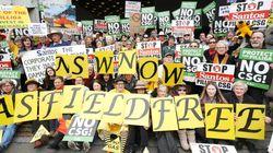 'Frack Off Santos!' - Anti-CSG Protestors Converge In