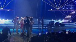 Man Rushes Onto Stage At Britney Spears