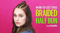 Watch: How To Do A Braided Half