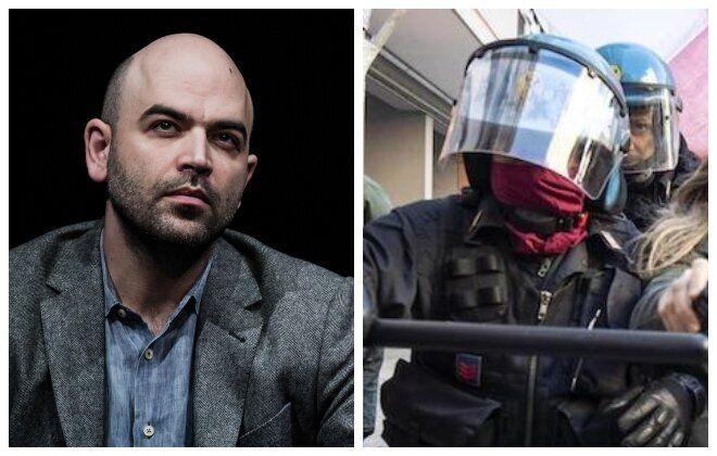 Botta risposta Saviano-Polizia: