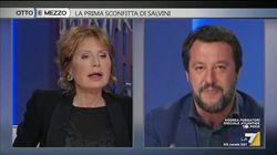 Gruber incalza Salvini: