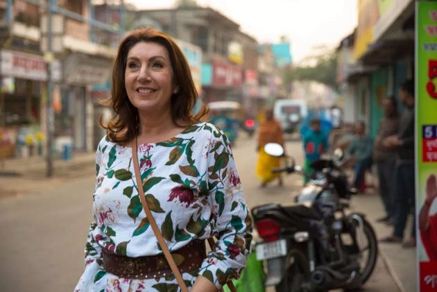Jane McDonald visited India during the most recent episode of her Bafta-winning Cruising