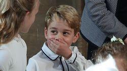 ¿Reveló por error el príncipe Jorge el nombre de su nuevo