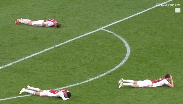 Ajax - Tottenham: cette photo résume la soirée de