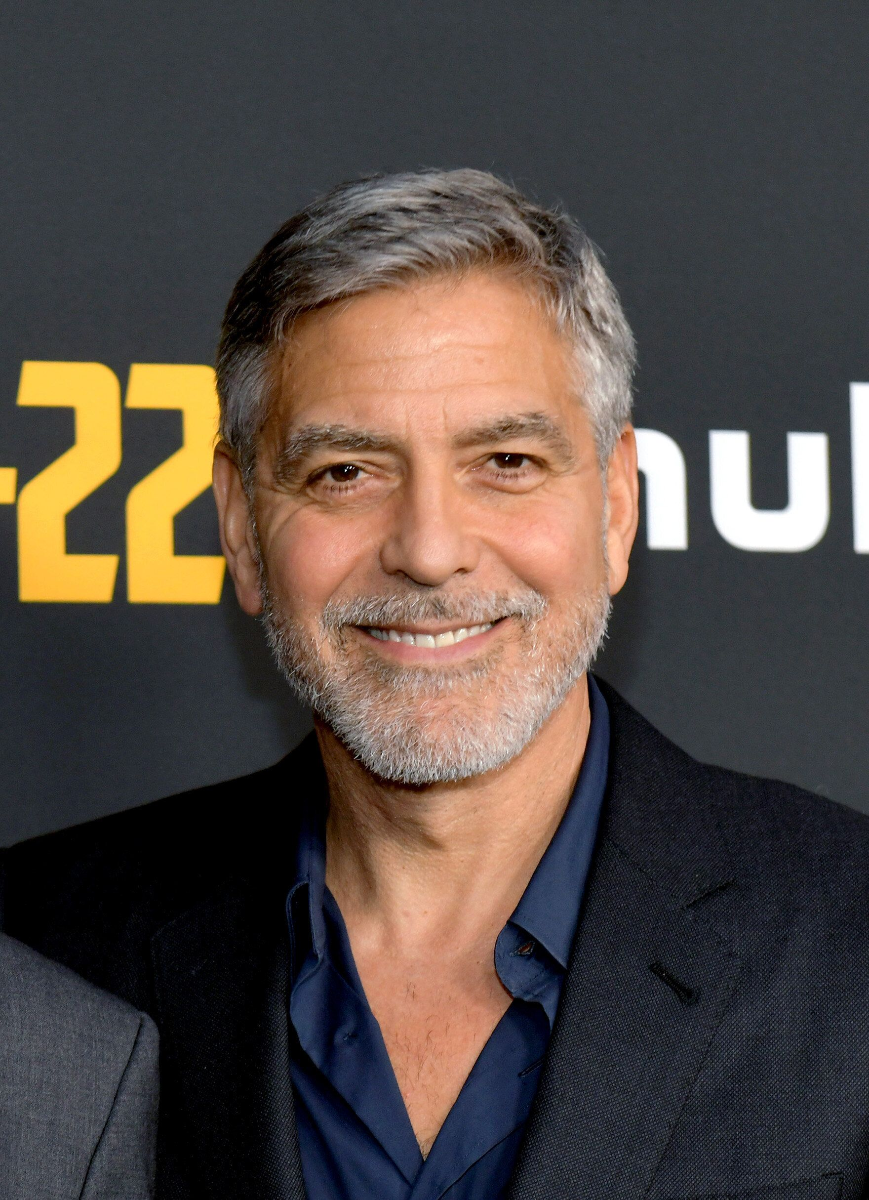 """NORTH HOLLYWOOD, CALIFORNIA - MAY 08: George Clooney attends the FYC Red Carpet for Hulu's """"Catch-22"""" at Saban Media Center on May 08, 2019 in North Hollywood, California. (Photo by Rodin Eckenroth/Getty Images)"""