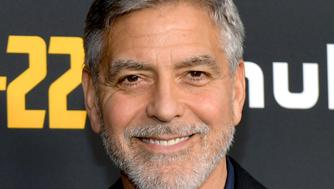 "NORTH HOLLYWOOD, CALIFORNIA - MAY 08: George Clooney attends the FYC Red Carpet for Hulu's ""Catch-22"" at Saban Media Center on May 08, 2019 in North Hollywood, California. (Photo by Rodin Eckenroth/Getty Images)"