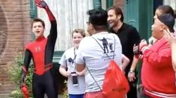 'Spider-Man' Stars Tom Holland, Zendaya Prank Fans In Disneyland Meet And