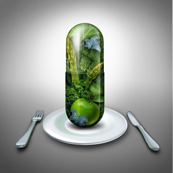 Supplements shouldn't replace a diet, but support it.