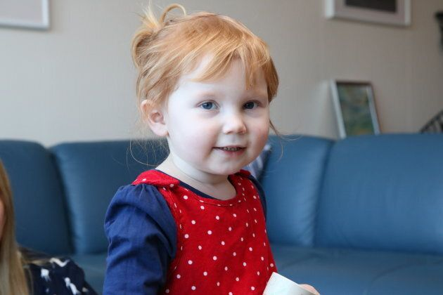 Charlotte, 2, is back to 'running, jumping, playing, misbehaving' after successful open heart surgery....