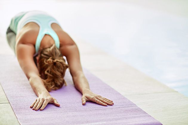Yoga is a double whammy for exercise and managing
